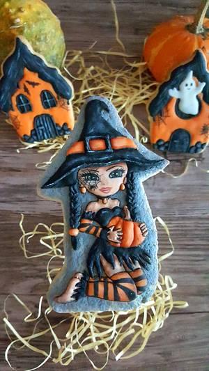 Sweet witch - Cake by Suzi Suzka