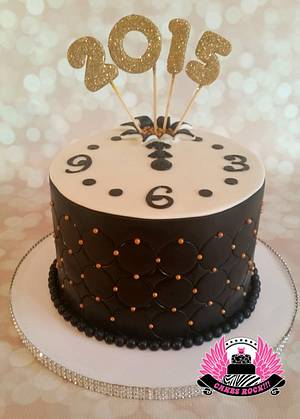 Happy New Year 2015 Cake - Cake by Cakes ROCK!!!