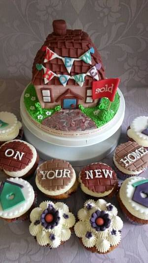 New home cake - Cake by Babbaloos Cakes