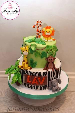 Jungle cake - Cake by Moanacakes