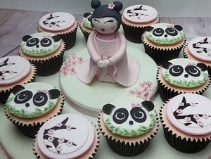 Japenese award winning cupcakes. - Cake by JojosCupcakeMadness