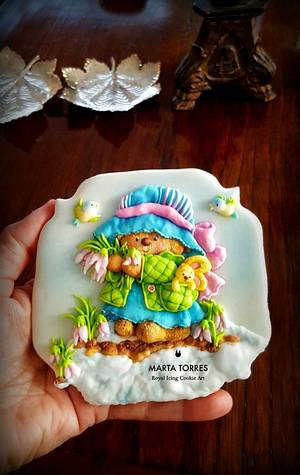 A little bit of colour.... - Cake by The Cookie Lab  by Marta Torres