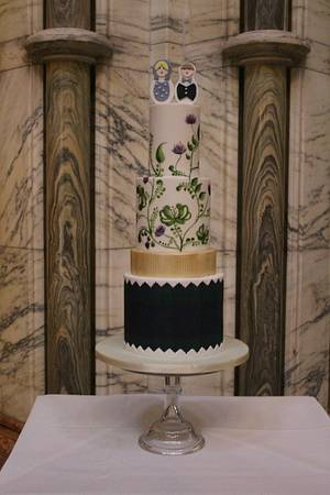 russian wedding - Cake by Rosewood Cakes
