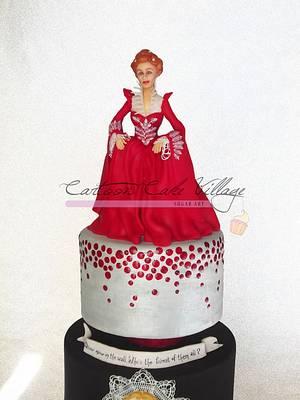 Mirror mirror of the wall - Cake by Eliana Cardone - Cartoon Cake Village