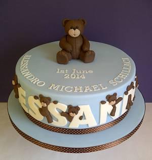Cheeky Little Bears! - Cake by CakeyCake