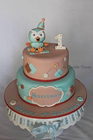 Giggle and Hoot Cake - Cake by Love Cake Create