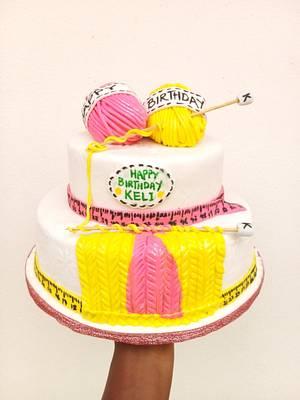 Yarn Cake - Cake by Ko Cakes