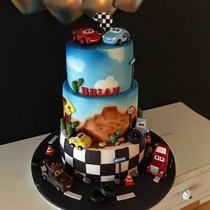 Cars Cake - Cake by Şebnem Arslan Kaygın