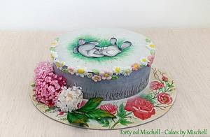 Easter bunny ...  - Cake by Mischell