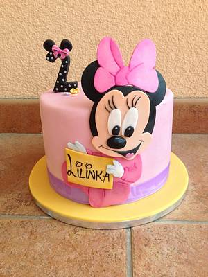 Minnie mouse - Cake by Luckapece