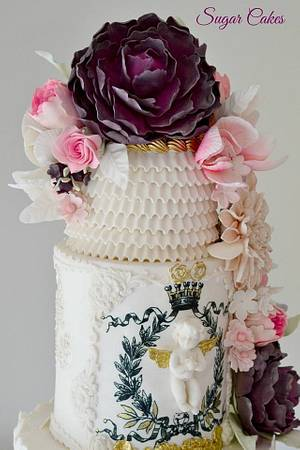 """""""Angelic Dreams"""" - Cake by Sugar Cakes"""