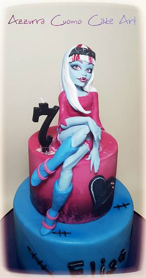 Abbey Bominable: Monster High cake❤ - Cake by Azzurra Cuomo Cake Art