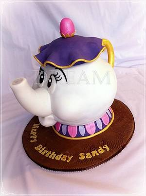 Mrs Potts!! - Cake by Dream Cakes by Robyn