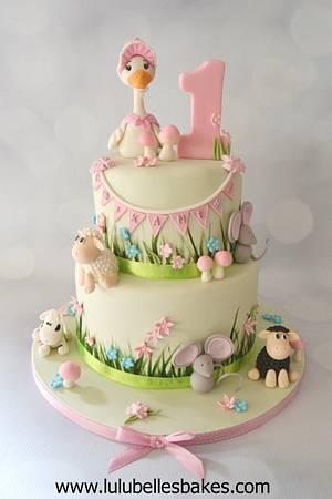 Farmyard Fun - Cake by Lulubelle's Bakes