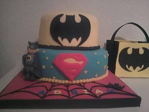 Tarta Super Héroes - Cake by maria jose garcia herrera