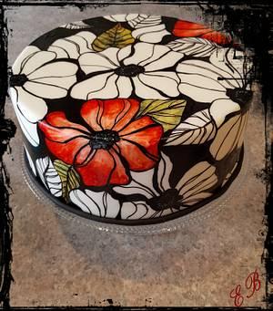 Flower Cake  - Cake by Effi's Cakes & Bakes