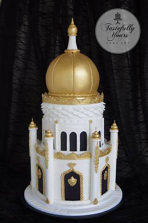Persian Palace - Cake by Marianne: Tastefully Yours Cake Art