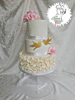 Wedding cake  - Cake by Casper cake