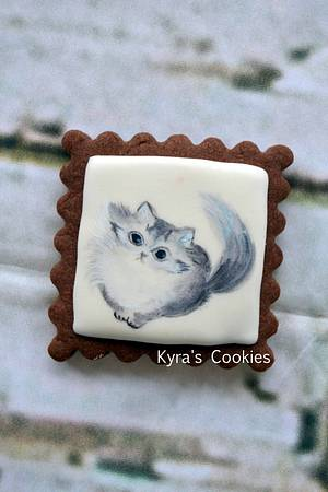 Cute kitty!!! - Cake by Anna Bonilla