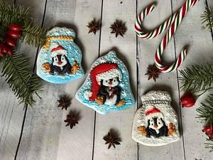 Christmas pinguin - Cake by Oli Ivanova