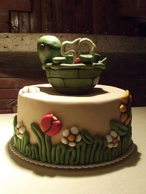 Thun Turtle Cake - Cake by Francesca Liotta