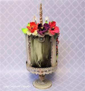 Christmas Unicorn - Cake by Sassy Cakes and Cupcakes (Anna)