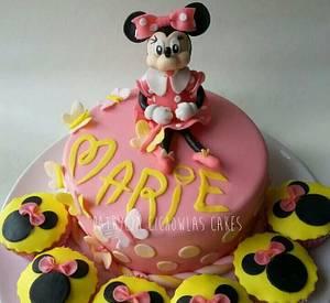 Minnie mouse 11 - Cake by Hokus Pokus Cakes- Patrycja Cichowlas
