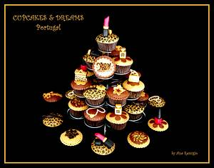 FASHION TEENAGER - Cake by Ana Remígio - CUPCAKES & DREAMS Portugal