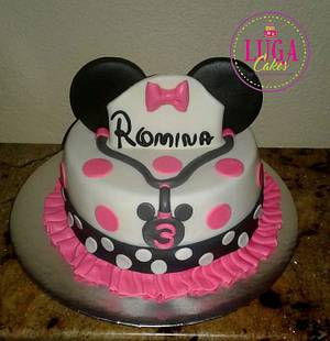 Doctor Minnie Mouse cake - Cake by Luga Cakes