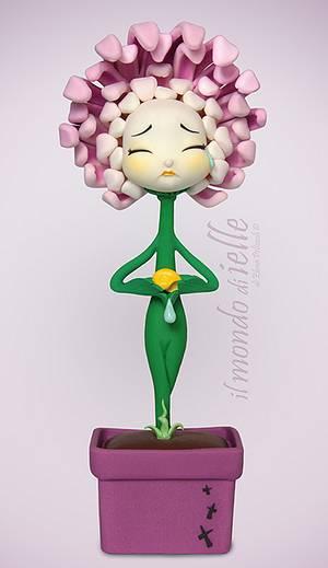 Crisantemo - Cake by il mondo di ielle