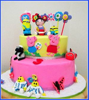 Despicable me - Cake by Teena