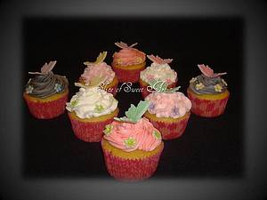 Butterfly Cupcakes - Cake by Slice of Sweet Art