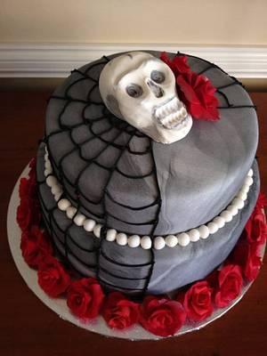 Halloween birthday cake - Cake by janetbakes