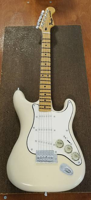 Fender Stratocaster Guitar Grooms Cake - Cake by Cakes ROCK!!!