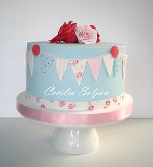 Banderines - Cake by Cecilia Solján