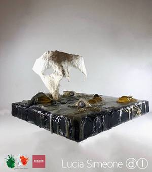 We're masks - Italian Sugar Dream Collaboration  - Cake by Lucia Simeone