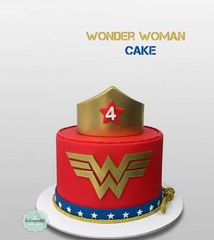 Torta Mujer Maravilla - Wonder Woman Cake - Cake by Dulcepastel.com