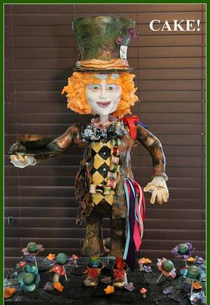 3 Foot Tall Mad Hatter Cake - Cake by Cake! By Jennifer Riley