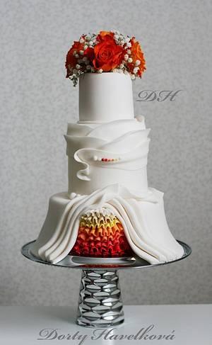 Wedding cake - Cake by OndrejHavelka