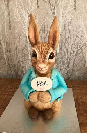 Peter rabbit - Cake by silversparkle