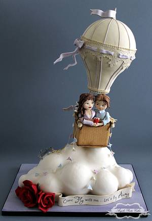 Come fly with me..... - Cake by Angela Penta