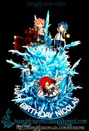 Fairytail cake - Anime - Cake by BunnyBlossom