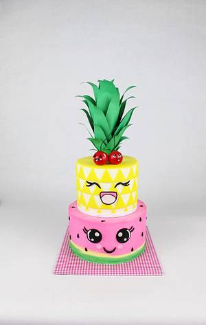 Two-ti Fruity - Cake by Tabi Lavigne