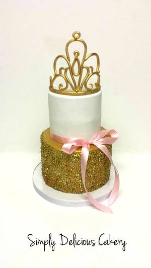 Royal Birthday  - Cake by Simply Delicious Cakery
