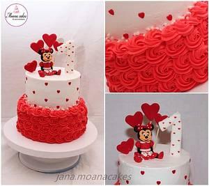 Minnie cake - Cake by Moanacakes