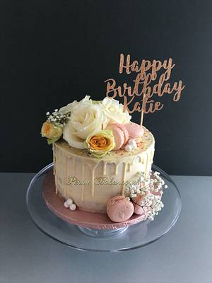 Roses cake - Cake by Penny Sue