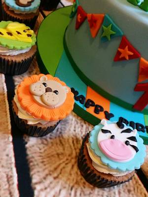 Animal cupcakes - Cake by Love it cakes