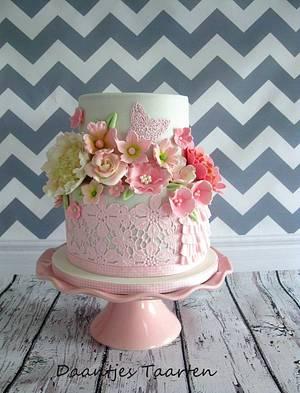 Babyshower cake - Cake by Daantje