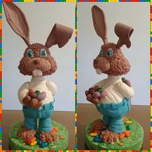 Rabbit standing cake - Cake by Gisela Gañan