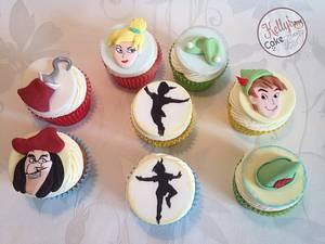 Peter Pan Cupcakes  - Cake by Kelly Hallett